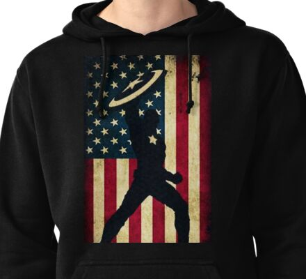 All-American Captain Pullover Hoodie