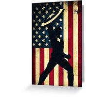 All-American Captain Greeting Card
