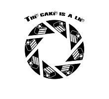 Tha cake is a lie Photographic Print