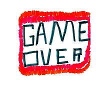 GAME OVER!!! Photographic Print