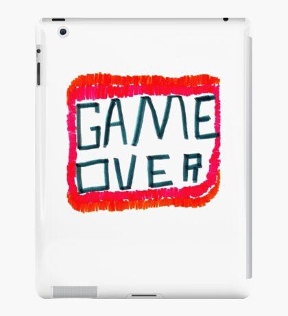 GAME OVER!!! iPad Case/Skin