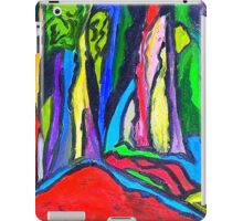 Abstract Forest iPad Case/Skin