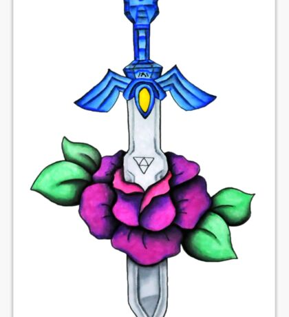 The Sword of Legend Sticker