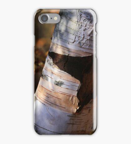 Scarred Birch iPhone Case/Skin