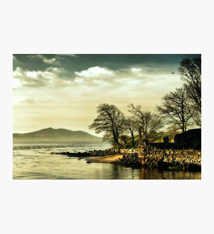 Where the river meets the sea Photographic Print