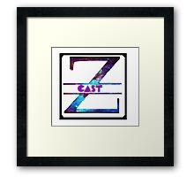 Zachcast Twitch Framed Print