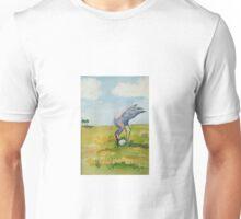 Sand hill Crane and eggs Unisex T-Shirt