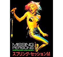 MISSING PERSONS Dale Bozzio T-Shirt Photographic Print