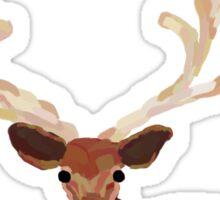 Majestic Deer Painting Sticker