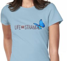 Life is Strange Butterfly Logo Womens Fitted T-Shirt