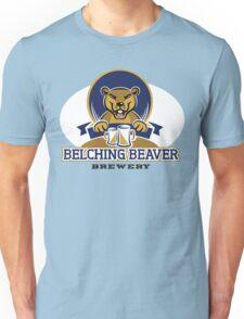 Belching Beaver Brewery Unisex T-Shirt