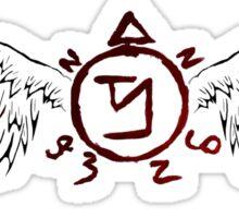 Supernatural Banishing Angel Sticker