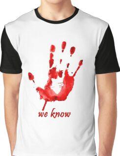 We Know - Dark Brotherhood - Watercolor Graphic T-Shirt