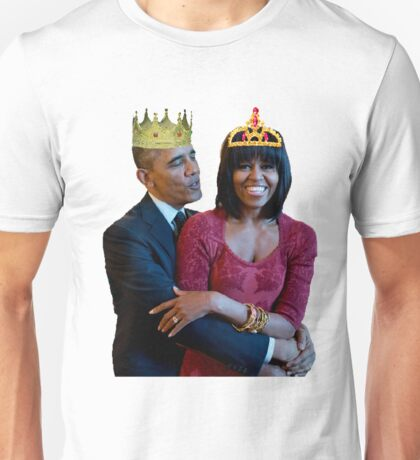 Barrack Obama and Michelle Obama Unisex T-Shirt