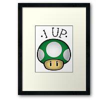 1 UP! Framed Print