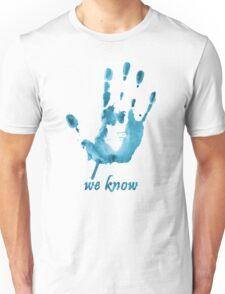 We Know - Dark Brotherhood - Watercolor Unisex T-Shirt