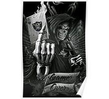 Raiders Game Over Poster