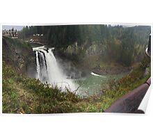 Washington Waterfall Poster