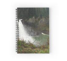 Washington Waterfall Spiral Notebook