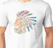 Mayan Chief Unisex T-Shirt