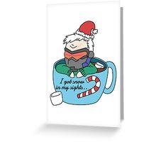 Christmas 76 Greeting Card
