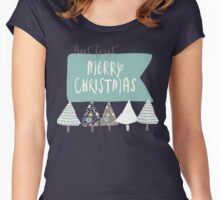 But first, Merry Christmas Women's Fitted Scoop T-Shirt