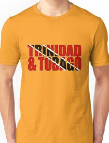 Trinidad & Tobago Font With Flag Unisex T-Shirt