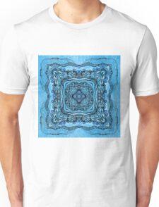 blue garden patttern Unisex T-Shirt