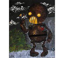 Steampunk Robot Photographic Print