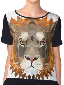 The Mighty Lion Chiffon Top