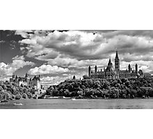 Parliament Hill Across The River Photographic Print