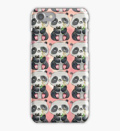 I love Panda iPhone Case/Skin