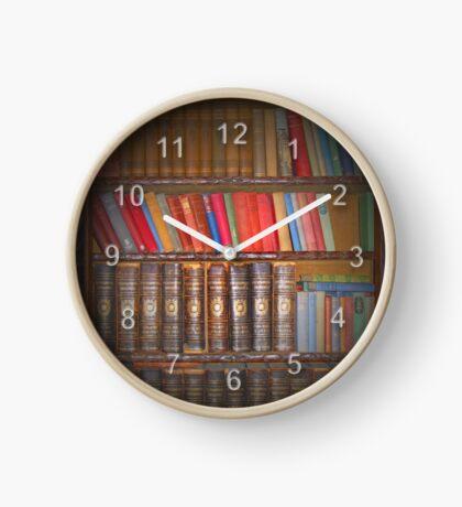 Vintage Books Clock
