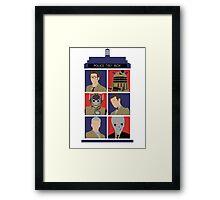 Doctors & Friends Framed Print