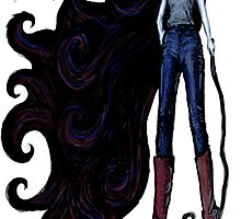 """Marceline in Jeans, 2014"" by SlideRulesYou"