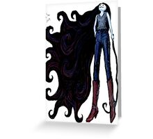 """""""Marceline in Jeans, 2014"""" Greeting Card"""