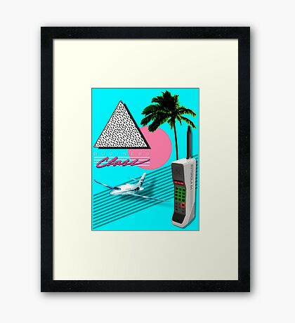 BUSINESS CLASS '84 COLLECTION Framed Print