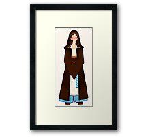Jedi (Hooded) Framed Print