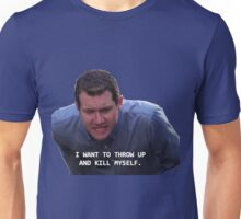 Craig Parks and Rec--I want to throw up and kill myself Unisex T-Shirt