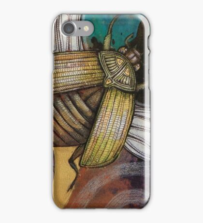 The Gold Bug iPhone Case/Skin