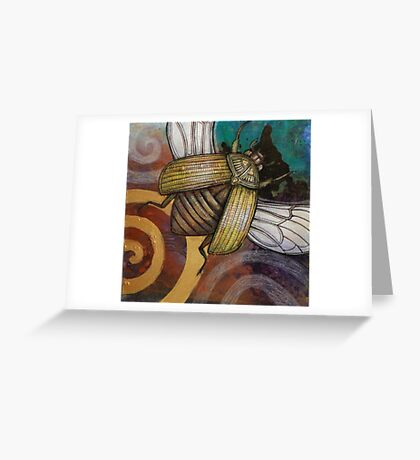 The Gold Bug Greeting Card