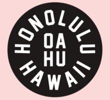 Honolulu - Oahu - Hawaii One Piece - Short Sleeve