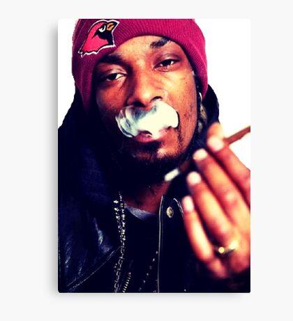 Snoop dogg smoking weed Canvas Print