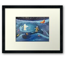 Wherefore didst thou doubt? Framed Print