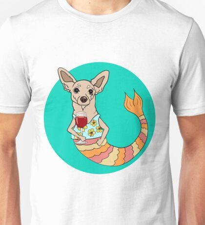 Chester the Chihuahua Mermutt Unisex T-Shirt