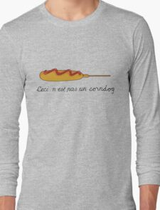 This is not a Corndog Long Sleeve T-Shirt