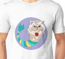 Lilly the Persian Purrmaid Unisex T-Shirt