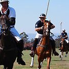 Polo Match  by Ronald Rockman