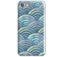 Colorful fish scales pattern iPhone Case/Skin