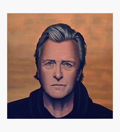Rutger Hauer Painting Photographic Print